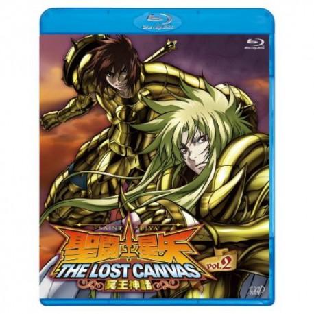 Saint Seiya - Blu-Ray - The Lost Canvas - vol.2 - Japonais