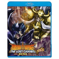 Saint Seiya - Blu-Ray - The Lost Canvas - vol.5 - Japonais
