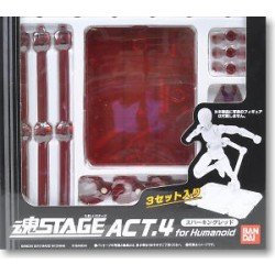 "Supports - ""Tamashii Stage"" Version rouge - Pour Myth Cloth"
