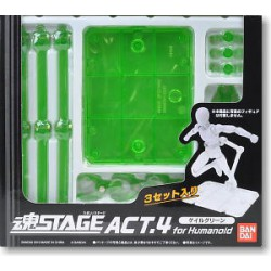 "Supports - ""Tamashii Stage"" Version verte - Pour Myth Cloth"