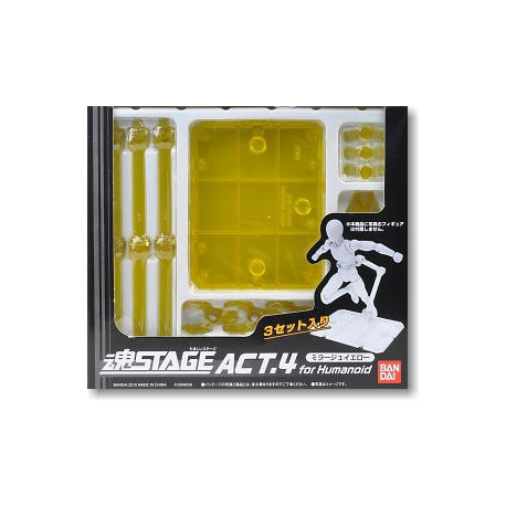 "Supports - ""Tamashii Stage"" Version jaune - Pour Myth Cloth"