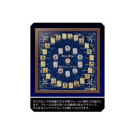 "Saint Seiya - ""Zeppin Series"" - cadre des 35 Pin's"