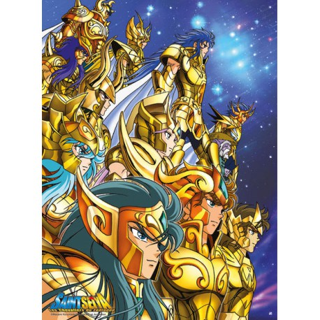 Poster officiel - Chevaliers d'Or (52 / 38 cm)