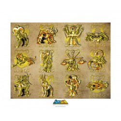 Poster officiel - ArtPrint Gold Clothes (50 / 40 cm)