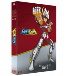 Saint Seiya - Part.01 (Pegasus Box) - 4 DVD - Ép. 1 à 24 - VOSTF + VF