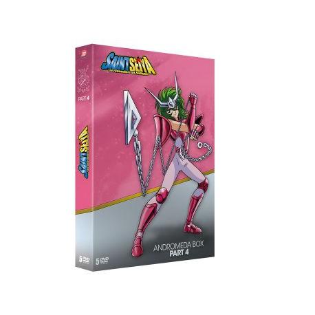 Saint Seiya - Part.04 (Andromeda Box) - 5 DVD - Ép. 74 à 99 - VOSTF + VF