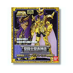 Scorpion - Milo - Saint Seiya - Myth Cloth