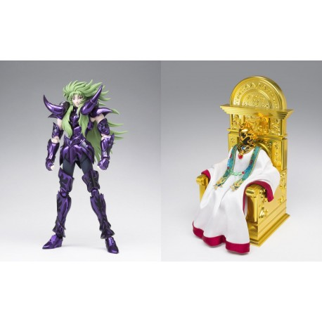 Shion Aries Surplis and Pope Figure - Myth Cloth EX Saint Seiya - 18cm