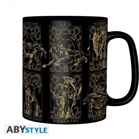 Mug - Saint Seiya - Les 12 armures d'Or - 460 ml