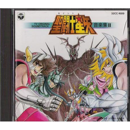 Saint Seiya - CD Audio - Ongakushu 2 - Sanctuaire