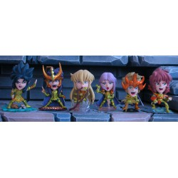 Saint Seiya - Anime Heroes - Gold - Les 6 chevaliers d'or