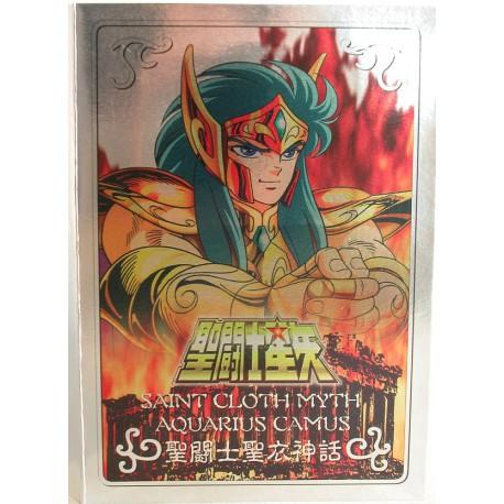 "Gold - Verseau Camu - Plaque ""Metal Mat"" Bandaï HK"