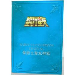 "Crystal - Seigneur Crystal - Plaque ""Metal Mat"" Bandaï HK"