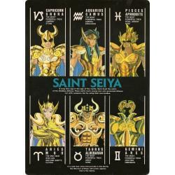 Shitajiki - Saint Seiya - G.I